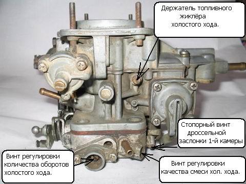 ...по першому траблу: якщо карбюратор ОЗОН, то може забиватися паливний жиклер холостого ходу, лікується...